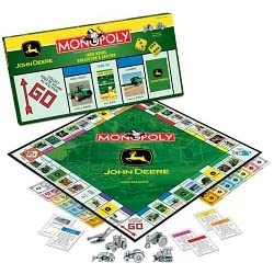 Click to order John Deere Monopoly collector game from Amazon!