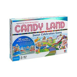Click to buy Candyland games: Sweet Celebration from Amazon!