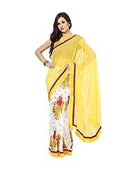 Asha Fashion Pure Chiffon Saree