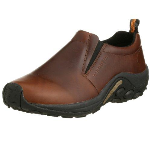 [メレル] MERRELL ウォーキングシューズ Jungle Moc Leather J567117 Dark Brown (Dark Brown/7.5)
