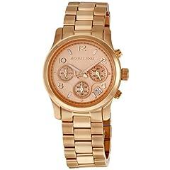 Michael Kors Rose Gold Runway Watch - Womens Watch MK5128