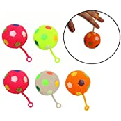 Dazzling Toys Prettily Designed Bouncing Balls With Blinking Lights Pack Of 6