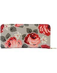 Bagaholics Floral Print Clutch Ladies Purse Girls Wallet Gift For Women ( Available In 5 Colors )