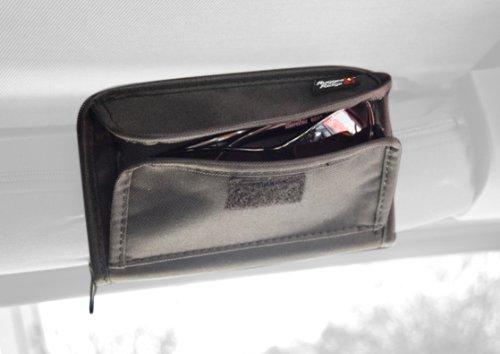 Rugged Ridge 12101.52 3-Inch Black Roll Bar Sunglass Holder