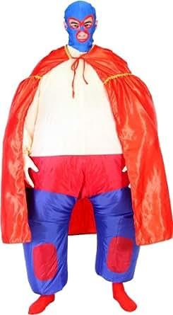 Amazon.com: Lucha Libre Jumpsuit Chub Suit Inflatable Blow