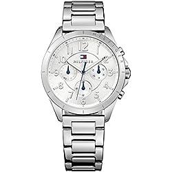 Tommy Hilfiger para mujer reloj de pulsera de cuarzo de acero inoxidable 1781605