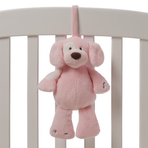 """Gund Baby 11"""" Soothing Sounds Spunky Plush Toy, Pink (Discontinued By Manufacturer)"""