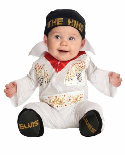Elvis Onesie Costume, White