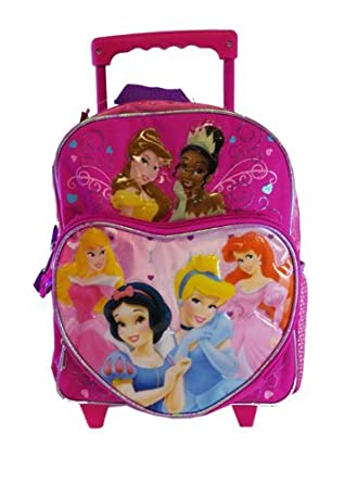 Amazon.com: Disney Princess Small Rolling BackPack