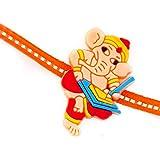 Cute Writing Ganesha Kids Rakhi