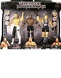 WWE Jakks Pacific Wrestling Exclusive DELUXE Aggression Action Figure 3-Pack Sabu, Bobby Lashley & RVD by Jakks