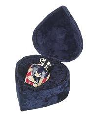 Elegante Beautifully Crafted Hand-Painted Americana Keepsake With Elegant Velvet Case