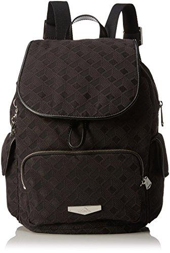 Kipling City Pack S, Sacs Portés Dos Femme, Noir (REF33W Diamond Black), 27 EU