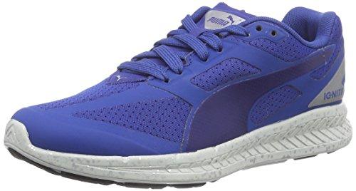 Puma IGNITE Fast Forward - zapatilla deportiva de material sintético Unisex adulto, color azul, talla 44