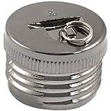 Alcoa Prime Fishing Rod Handle End Dark Gray Carbon Fiber 20mm Butt Cap