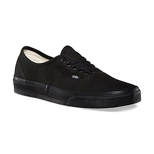 Vans Authentic - Zapatillas de lona, unisex, color negro (schwarz/schwarz), talla 40.5