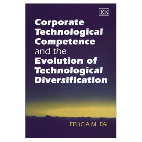 Corporate Technological Competence and the Evolution of Technological Diversific