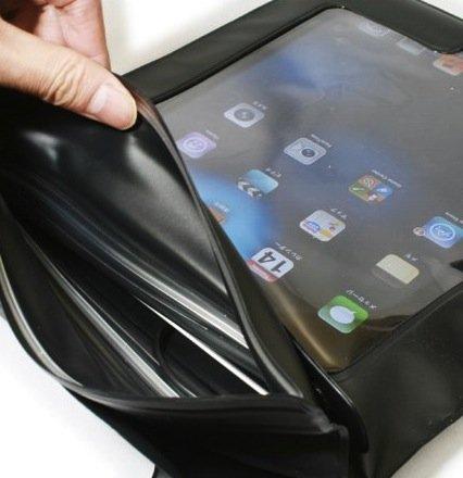 Axstyle+高品質+水深10M+スタイリッシュ+防水ケース+Waterproof+case+for+new+iPad(第3世代)%2CiPad2+イヤフォンジャック付+ストラップ付属+オリジナルモデル