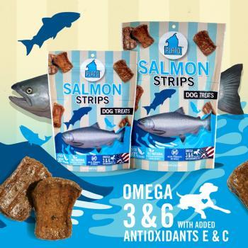 Amazon.com : Plato Salmon, 16-Ounce : Pet Snack Treats