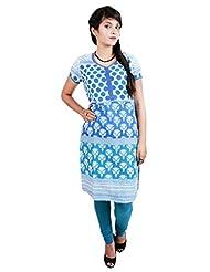 El Sandalo Cotton Printed Women Wear Kurti - B013WGRXIU