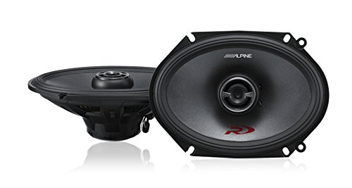 "Alpine SPR-68 6x8"" Coaxial 2-Way Type-R Speaker Set"