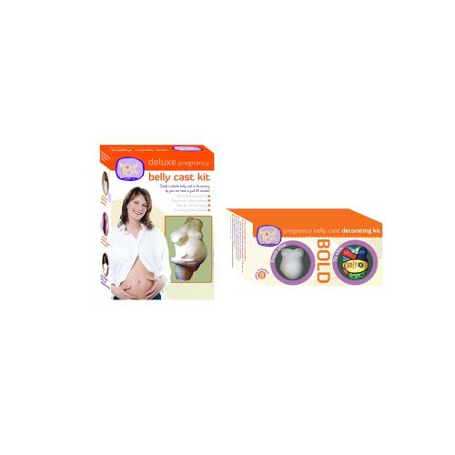 Deluxe Belly Cast & Bold Decorating Kit