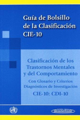 CIE-10: Clasificación de los Trastornos Mentales y del Comportamiento