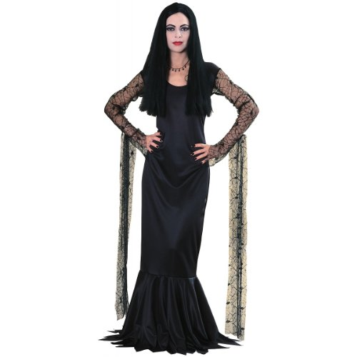 Great Group Halloween Costumes: The Addams Family - Great Group Halloween Costumes: The Addams Family - Morticia Costume