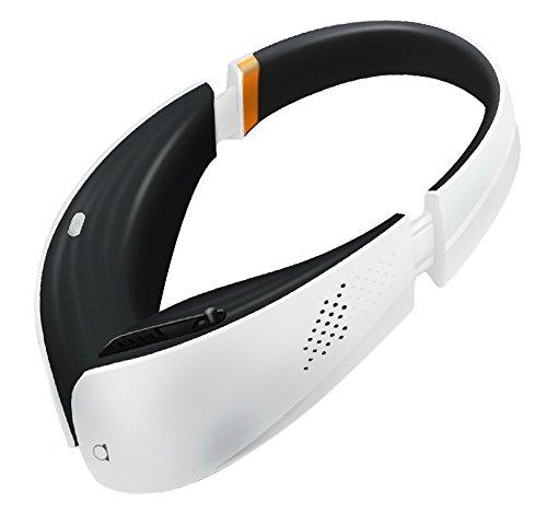 【PM2.5対応】 第二のマスク ヘッドフォンスタイル ポータブル空気清浄機 aria パーソナル ホワイト×ブラック