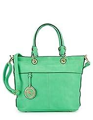 Basta Women's Hand-held Bag (Green)