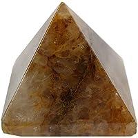 Bhavika Collectible Natural Yellow Aventurine Pyramid Reiki Healing Pyramid For Meditation Vastu Reiki 51mm X...