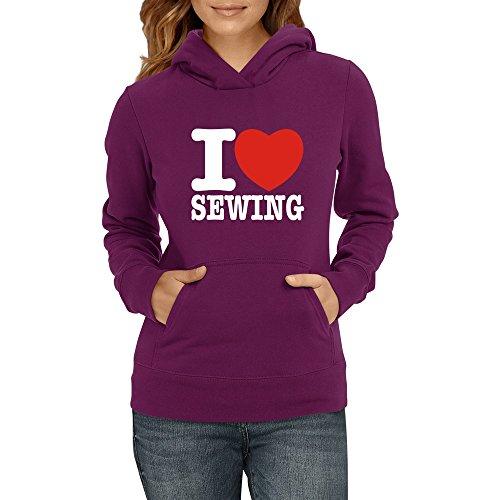 Idakoos - I love Sewing - Hobbies - Women Hoodie