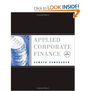 Applied Corporate Finance Aswath Damodaran Pdf
