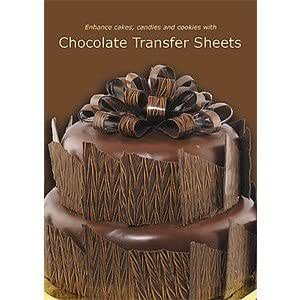 wedding cake transfer sheets chocolate transfer sheets dvd choclate 26694