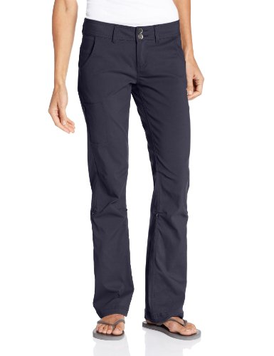 prAna Living Women's Regular Inseam Halle Pant, Coal, 6