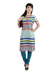 El Sandalo Cotton Printed Women Wear Kurti - B013WGYT50