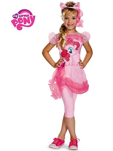 My Lil' Pony Pinkie Pie Classic Girls Costume