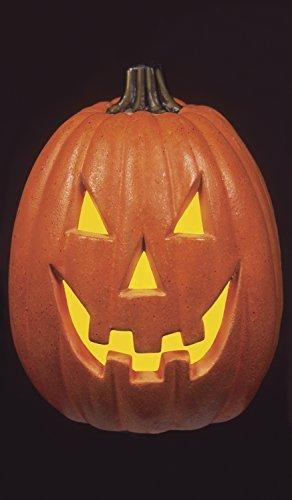 WOWindow Posters Happy Jack Pumpkin Halloween Jack O'lantern Window Decoration includes one 34.5