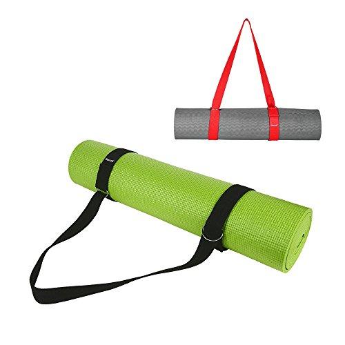 Best Yoga Mat Strap - 100% Premium Cotton Yoga Mat Sling Har