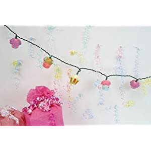 Cupcake Party String Lights Set