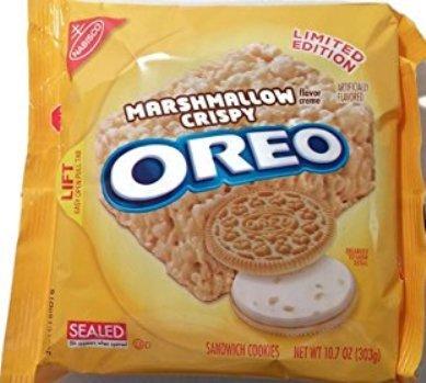 Oreo Marshmallow Crispy Creme Cookies (Marshmallow Crispy Creme)