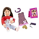 Our Generation Willow Read and Play Set Clothes and Book Doll Accesories