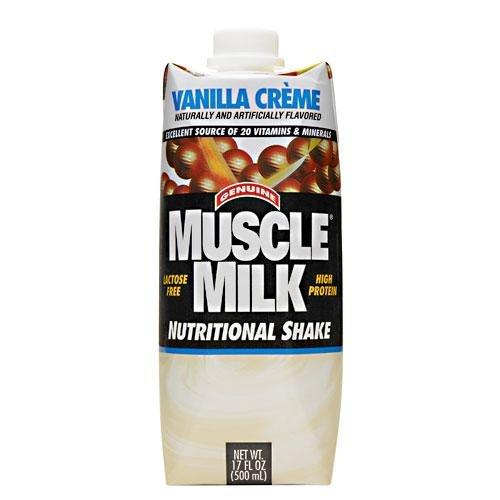 Muscle Milk RTD Vanilla - Case Cytosport 17 oz/12 Servings C