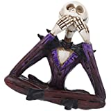 MagiDeal Handmade Resin Skulls Art Decor Cool Collectible Human Skeleton Art Decorative Figurine Home Decor Ornaments...