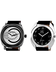 WATCH ME COMBO GIFT SET OF WATCHES FOR MEN AND COUPLES WM-080-W WM-0004-B