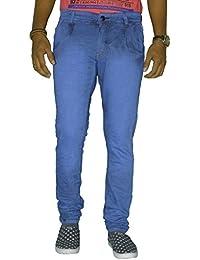 Jugend Blue Slim Fit Stretchable Jeans For Men