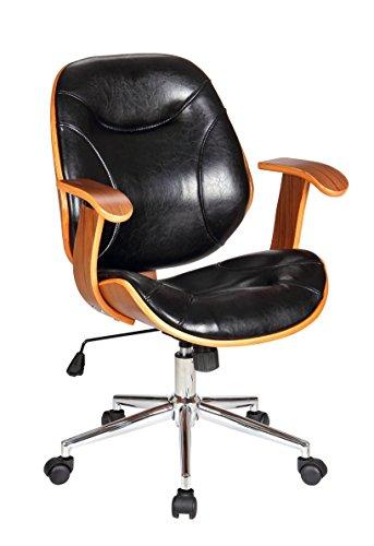 Boraam Rigdom Desk Chair in Black
