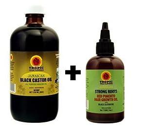 Amazon.com : Jamaican Black Castor Oil 8oz & Strong Roots