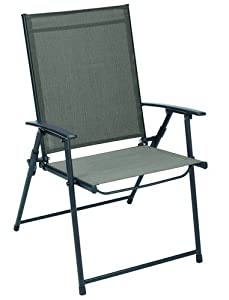 "Amazon.com : Living Accents Sling Chair Folding 36.42"" H X ... on Living Accents Patio id=64123"