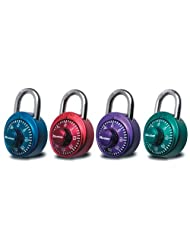 Master Lock 1530DCM X-treme Combination Lock In Assorted Colors, 1-Pack